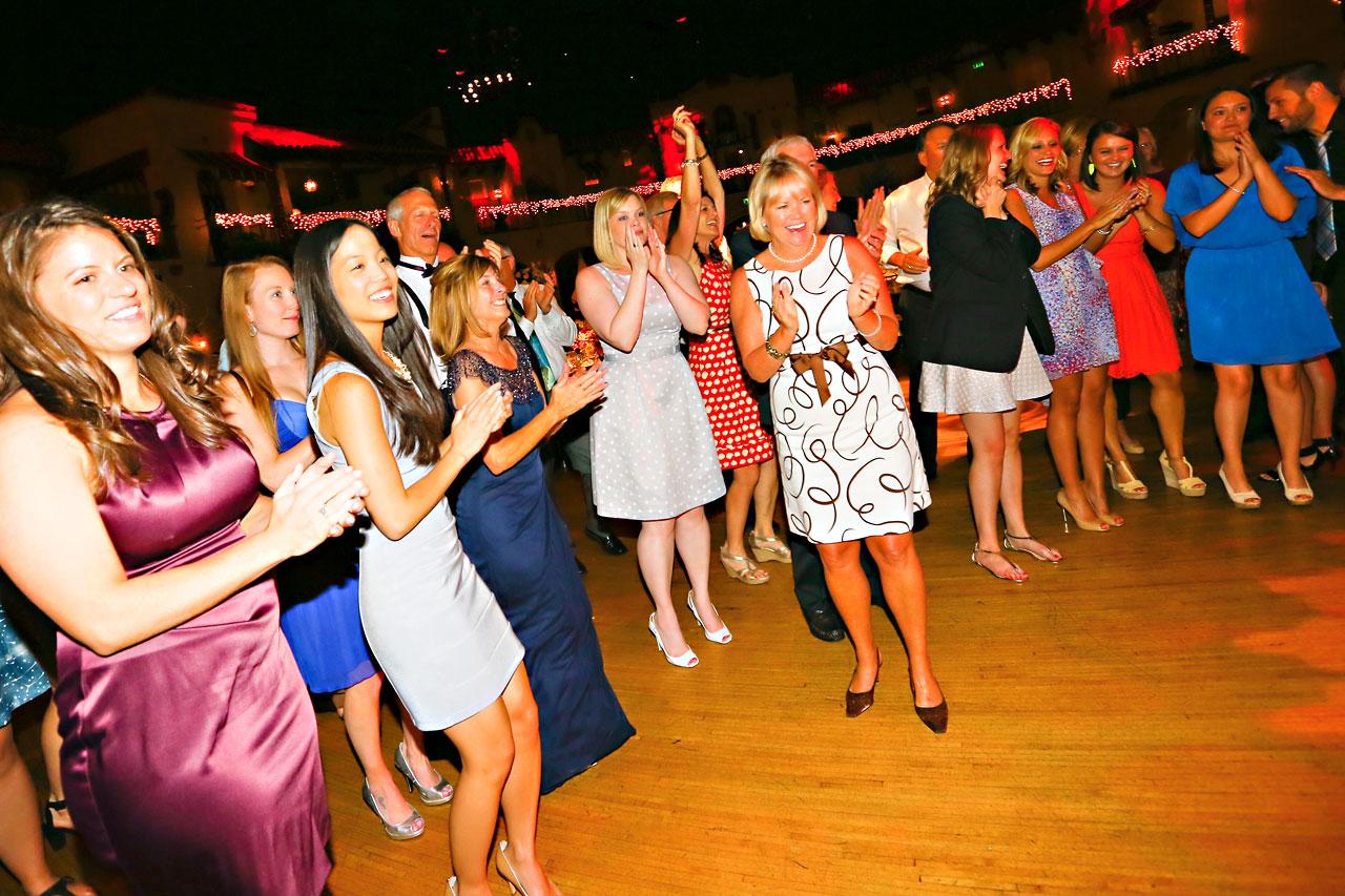 Chandra Kevin Indiana Roof Ballroom wedding 0230