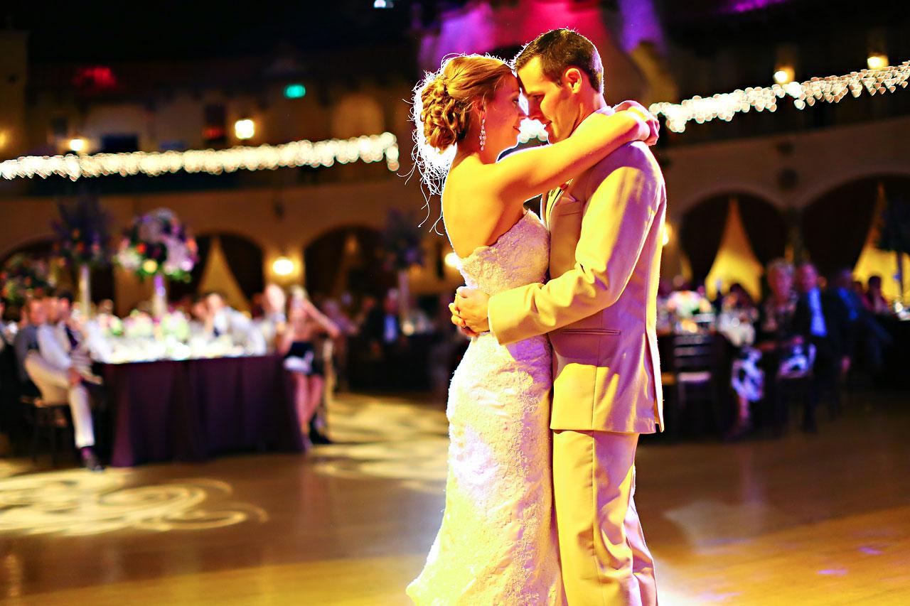 Chandra Kevin Indiana Roof Ballroom wedding 0218