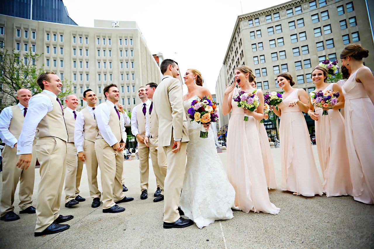 Chandra Kevin Indiana Roof Ballroom wedding 0140