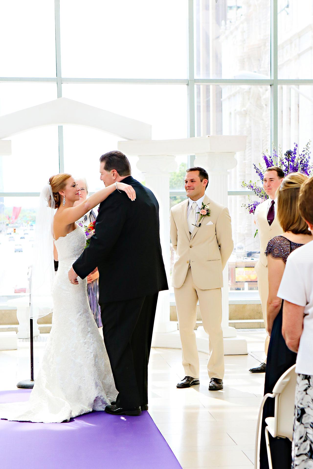 Chandra Kevin Indiana Roof Ballroom wedding 0089