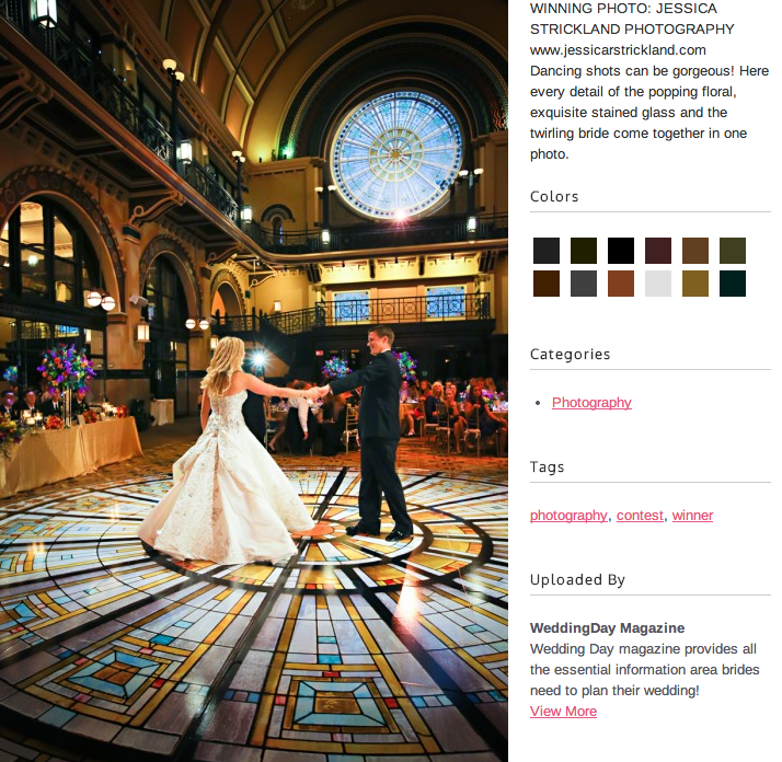 WEDDING DAY MAGAZINE: Top 10 Images