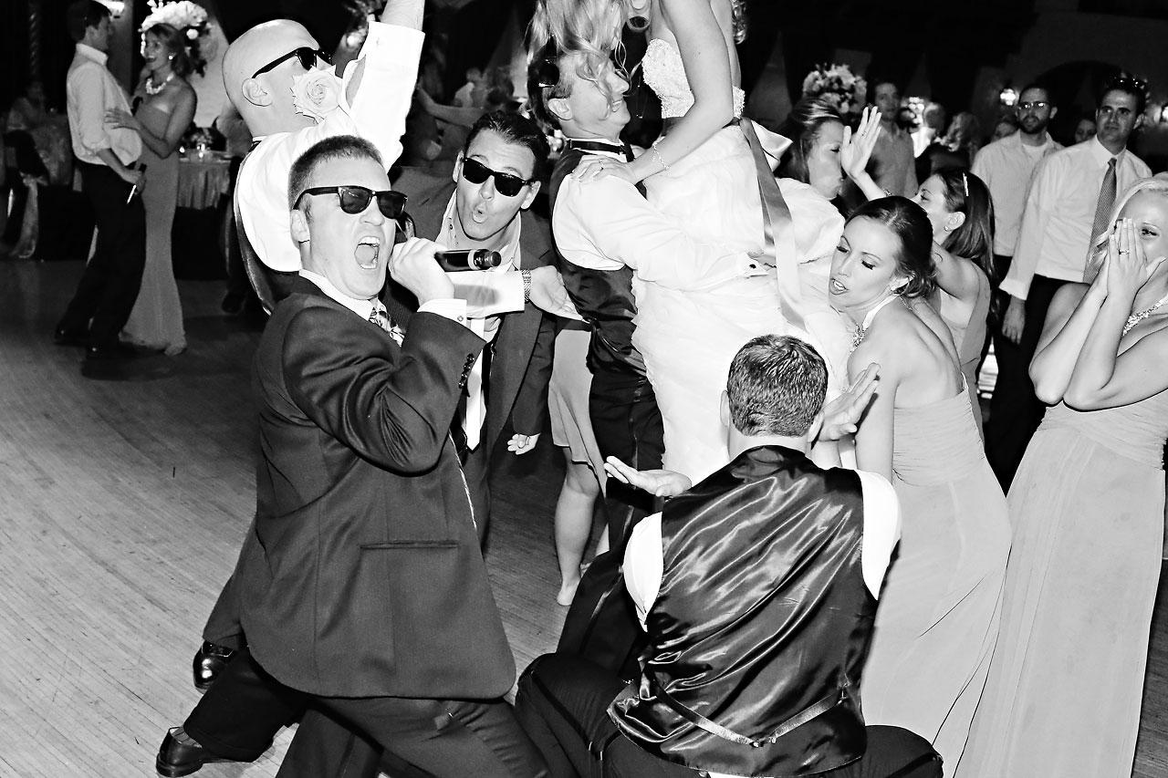 Moey Drew Indiana Roof Ballroom Wedding 259