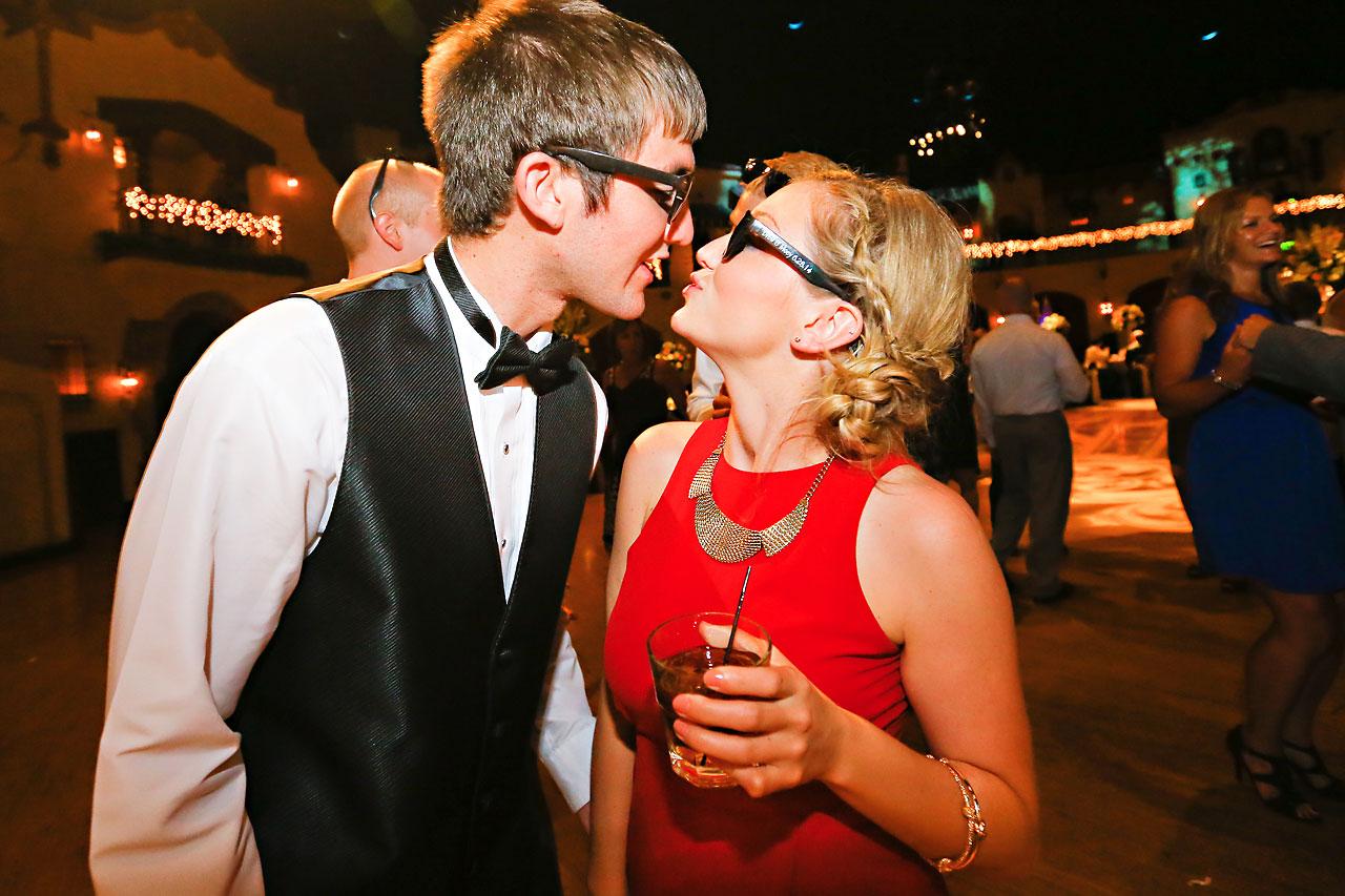 Moey Drew Indiana Roof Ballroom Wedding 253