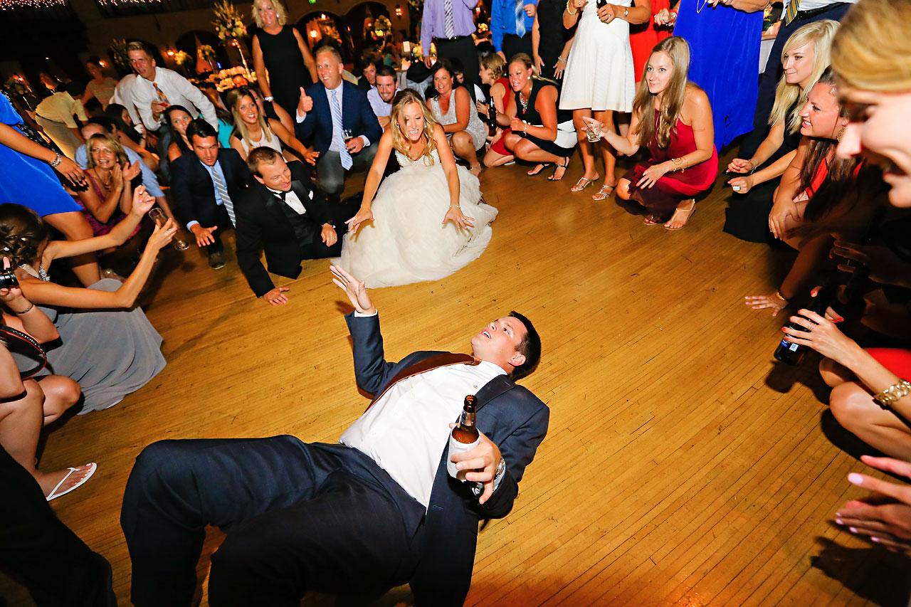 Moey Drew Indiana Roof Ballroom Wedding 247