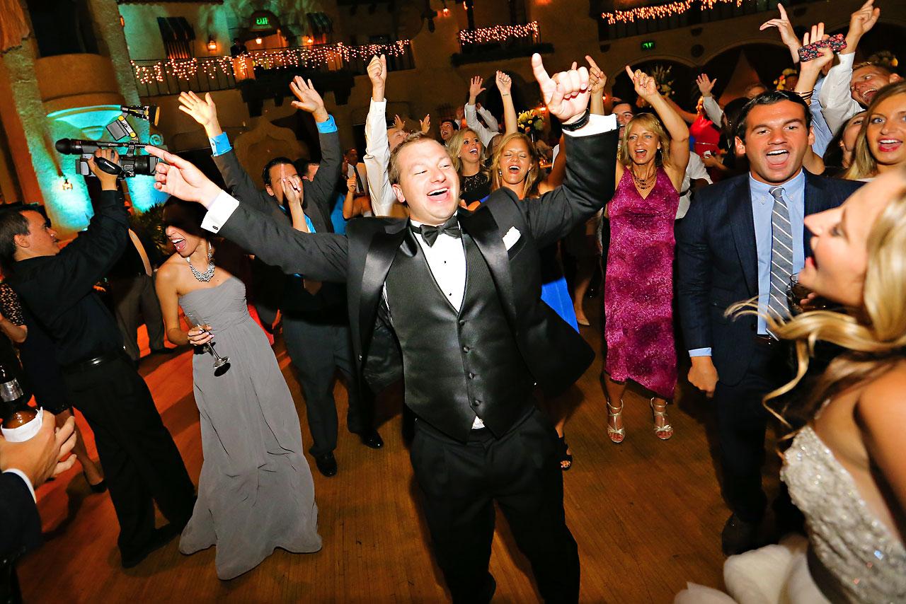 Moey Drew Indiana Roof Ballroom Wedding 248