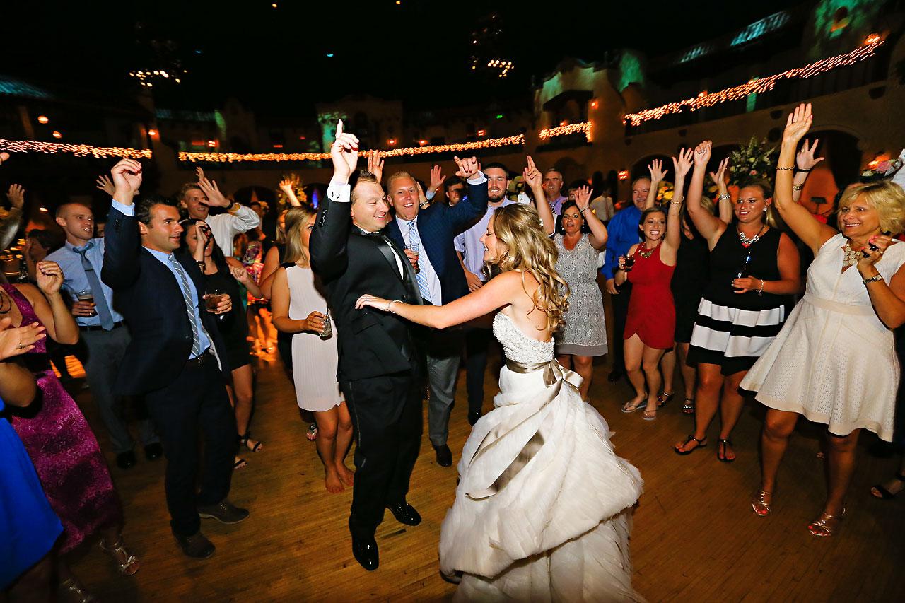 Moey Drew Indiana Roof Ballroom Wedding 245