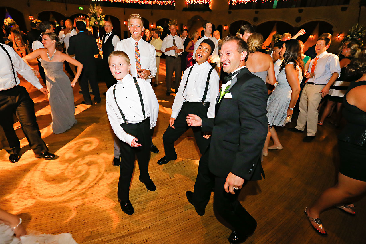 Moey Drew Indiana Roof Ballroom Wedding 241