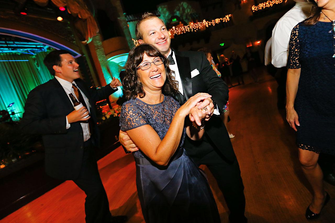 Moey Drew Indiana Roof Ballroom Wedding 243