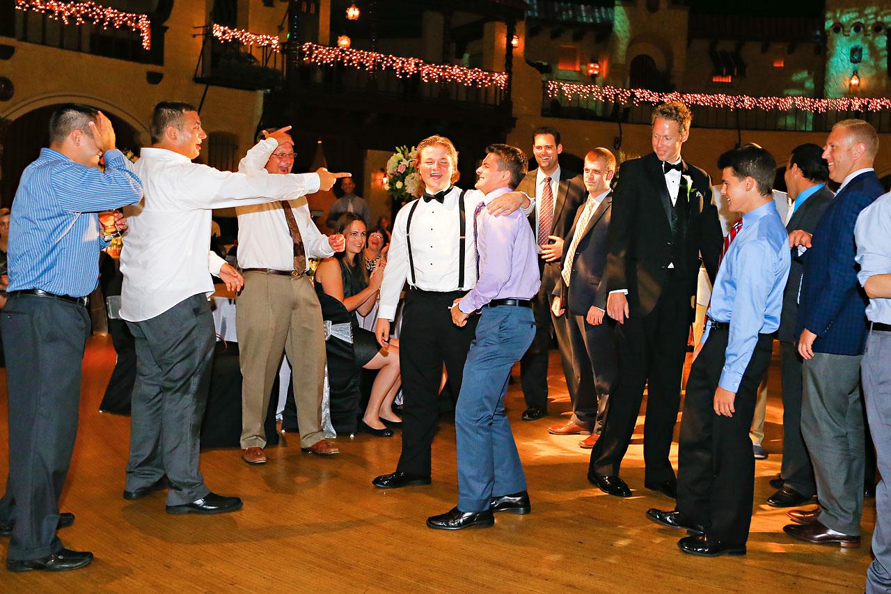 Moey Drew Indiana Roof Ballroom Wedding 239