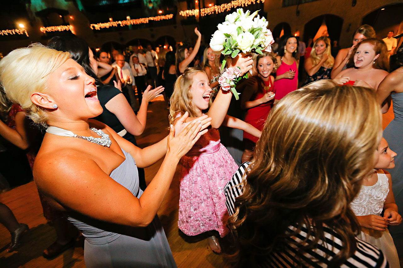 Moey Drew Indiana Roof Ballroom Wedding 237