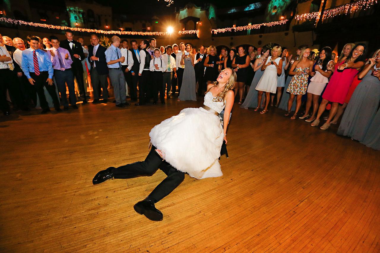 Moey Drew Indiana Roof Ballroom Wedding 238