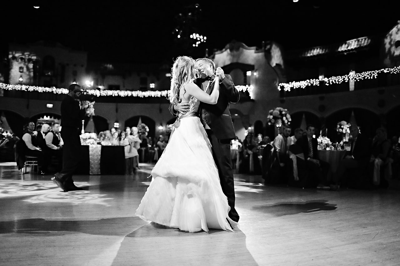 Moey Drew Indiana Roof Ballroom Wedding 230