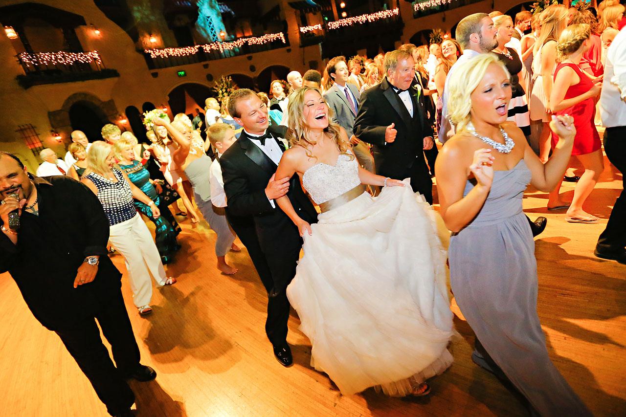Moey Drew Indiana Roof Ballroom Wedding 231