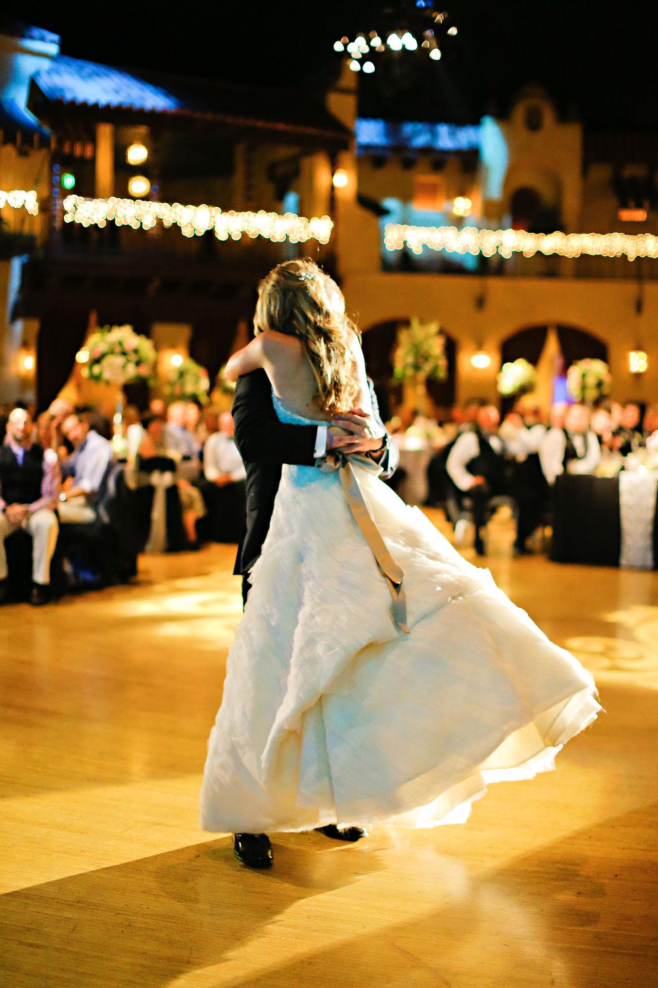 Moey Drew Indiana Roof Ballroom Wedding 221