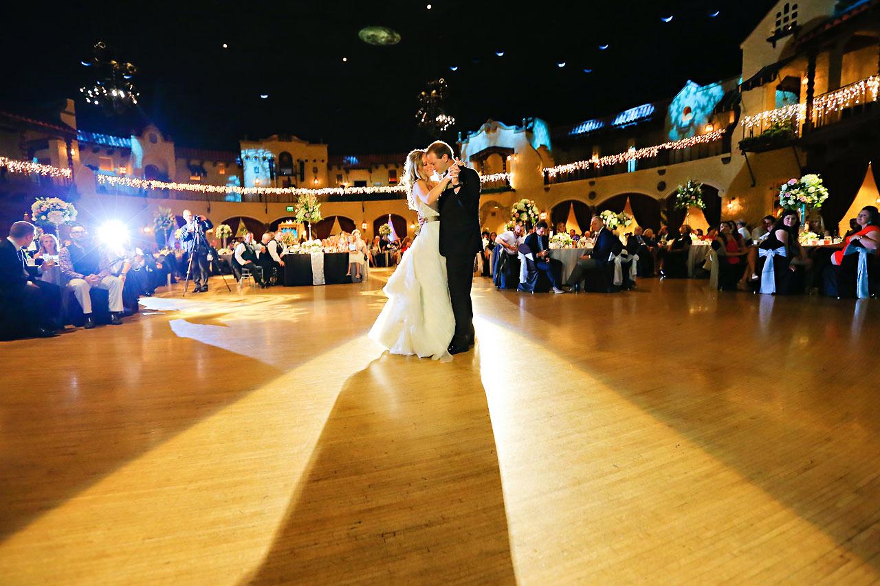 Moey Drew Indiana Roof Ballroom Wedding 216