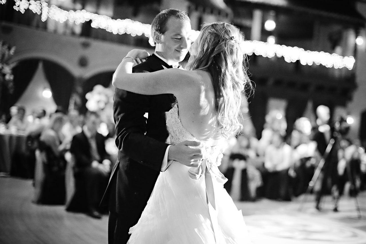 Moey Drew Indiana Roof Ballroom Wedding 217