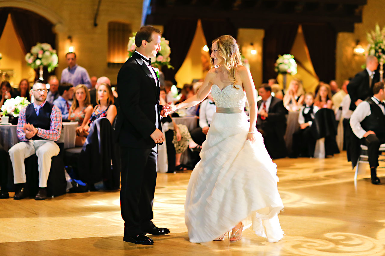 Moey Drew Indiana Roof Ballroom Wedding 211