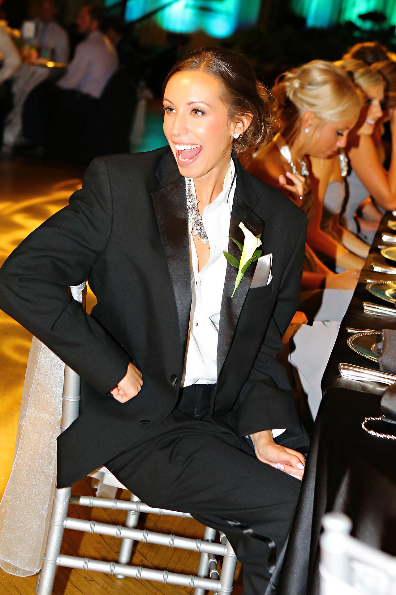 Moey Drew Indiana Roof Ballroom Wedding 204