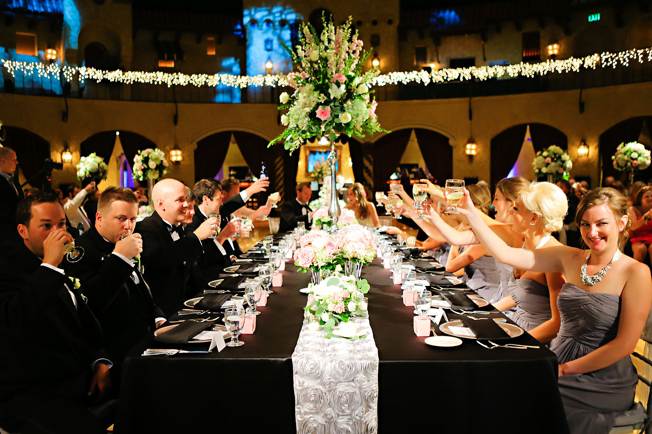 Moey Drew Indiana Roof Ballroom Wedding 203