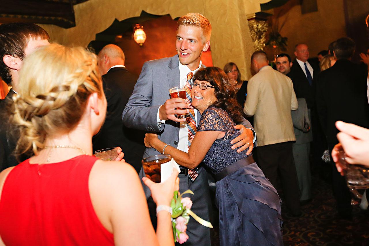 Moey Drew Indiana Roof Ballroom Wedding 197