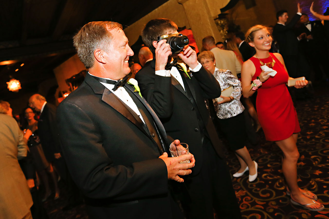 Moey Drew Indiana Roof Ballroom Wedding 199