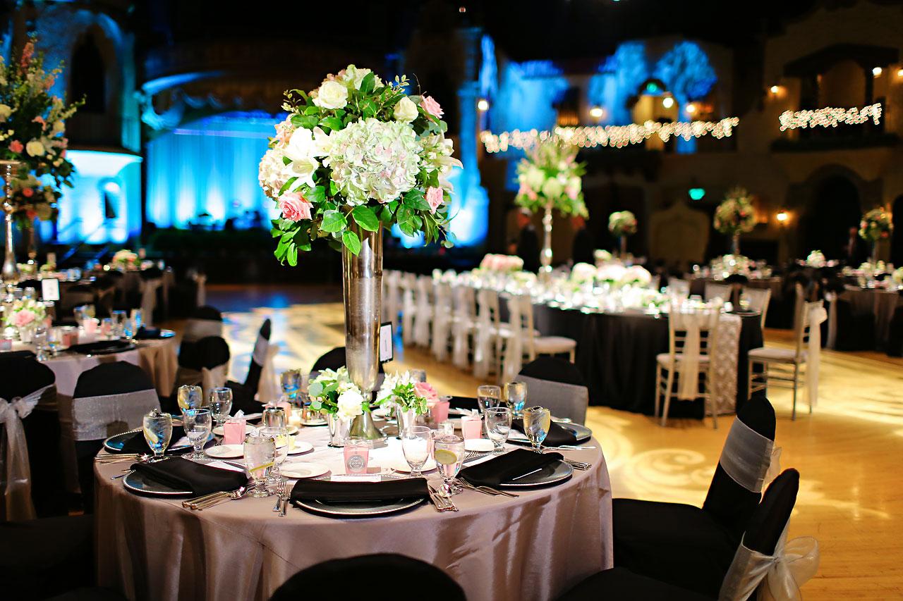 Moey Drew Indiana Roof Ballroom Wedding 174