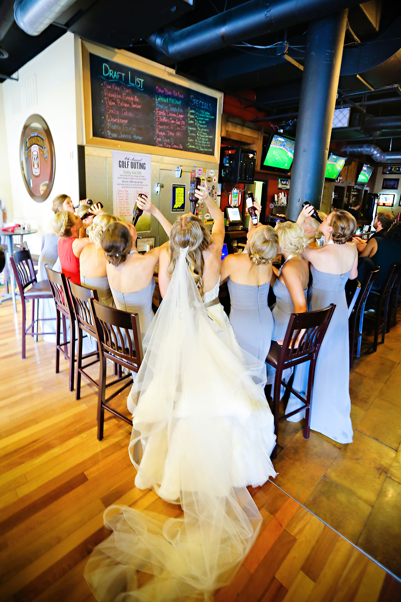 Moey Drew Indiana Roof Ballroom Wedding 148
