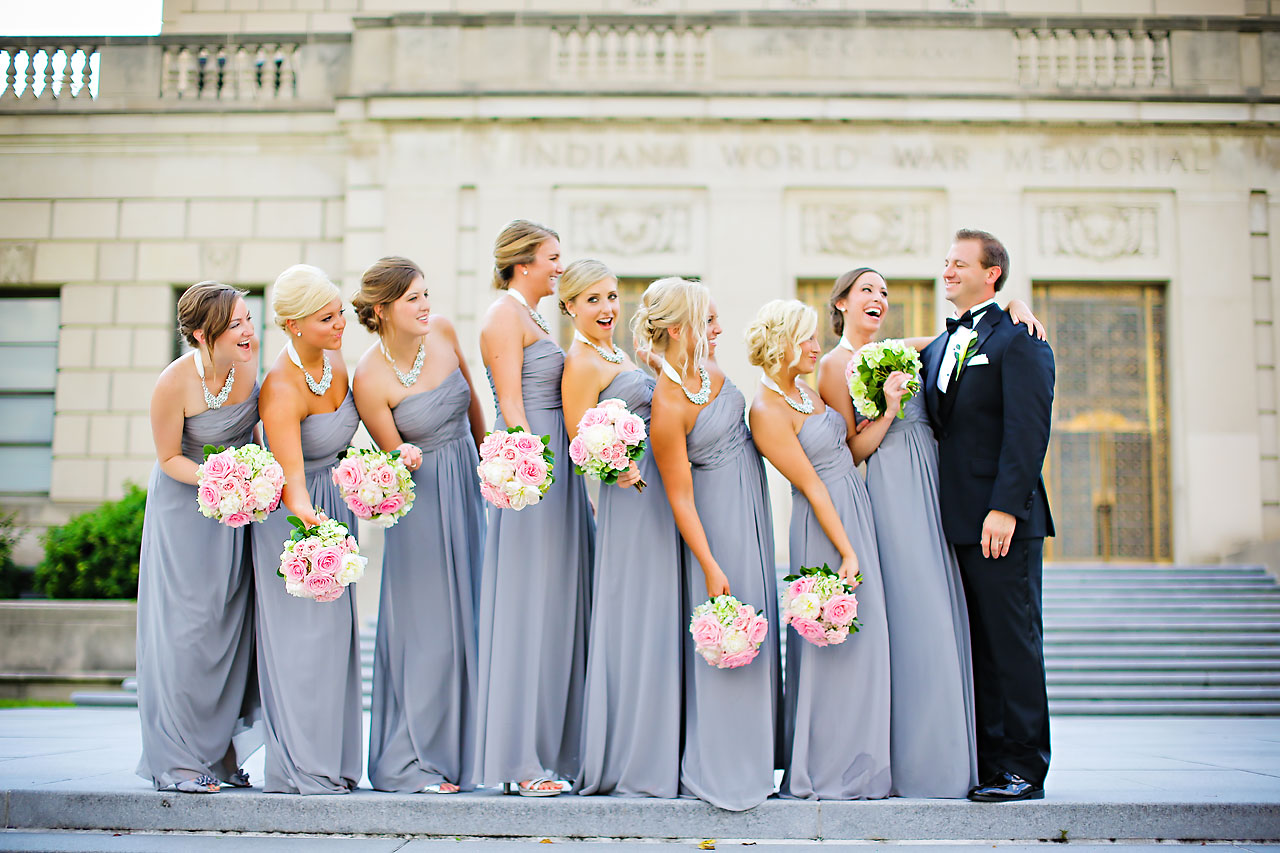 Moey Drew Indiana Roof Ballroom Wedding 138