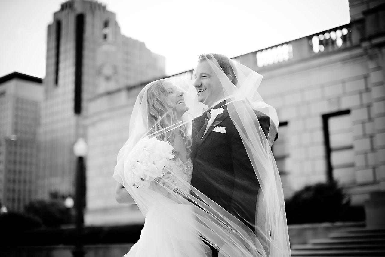 Moey Drew Indiana Roof Ballroom Wedding 139
