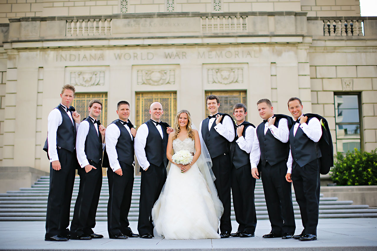 Moey Drew Indiana Roof Ballroom Wedding 132