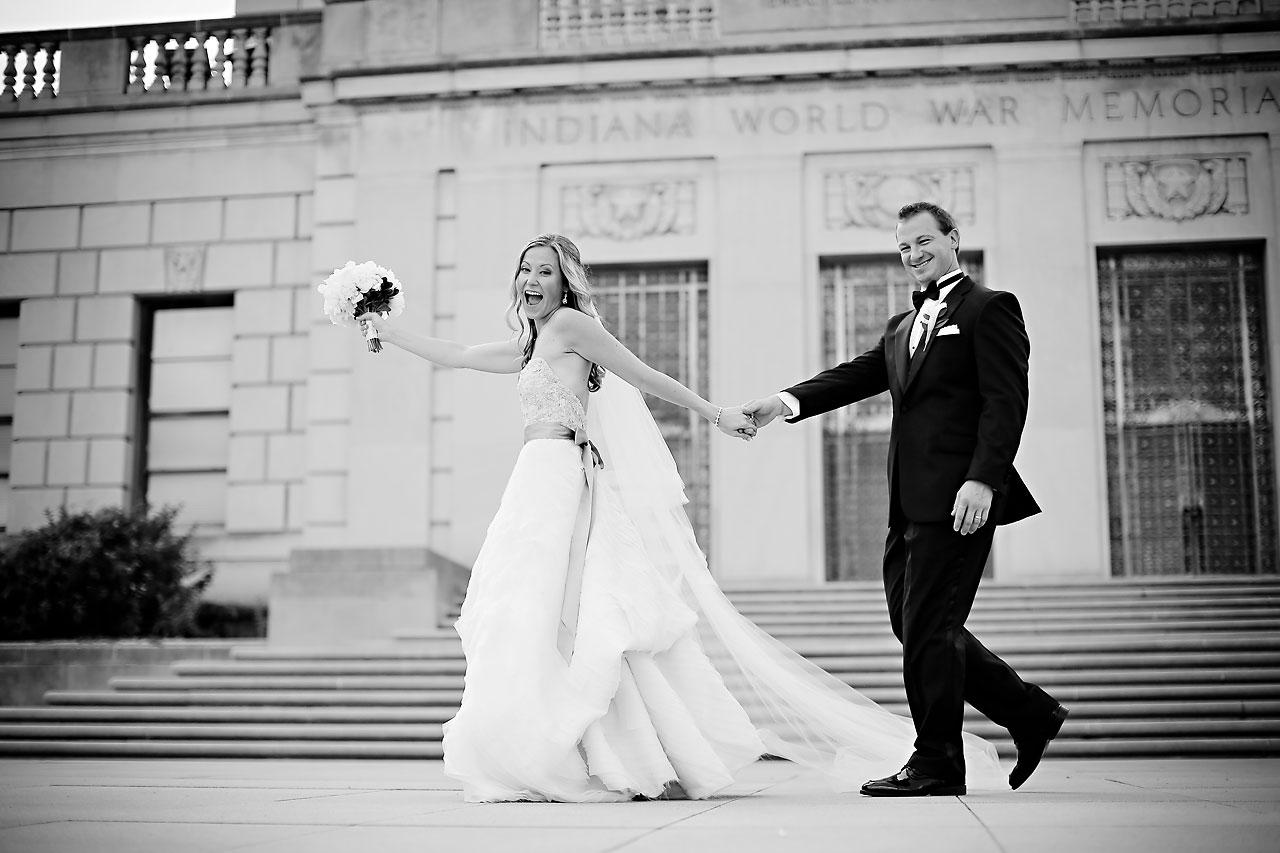 Moey Drew Indiana Roof Ballroom Wedding 133