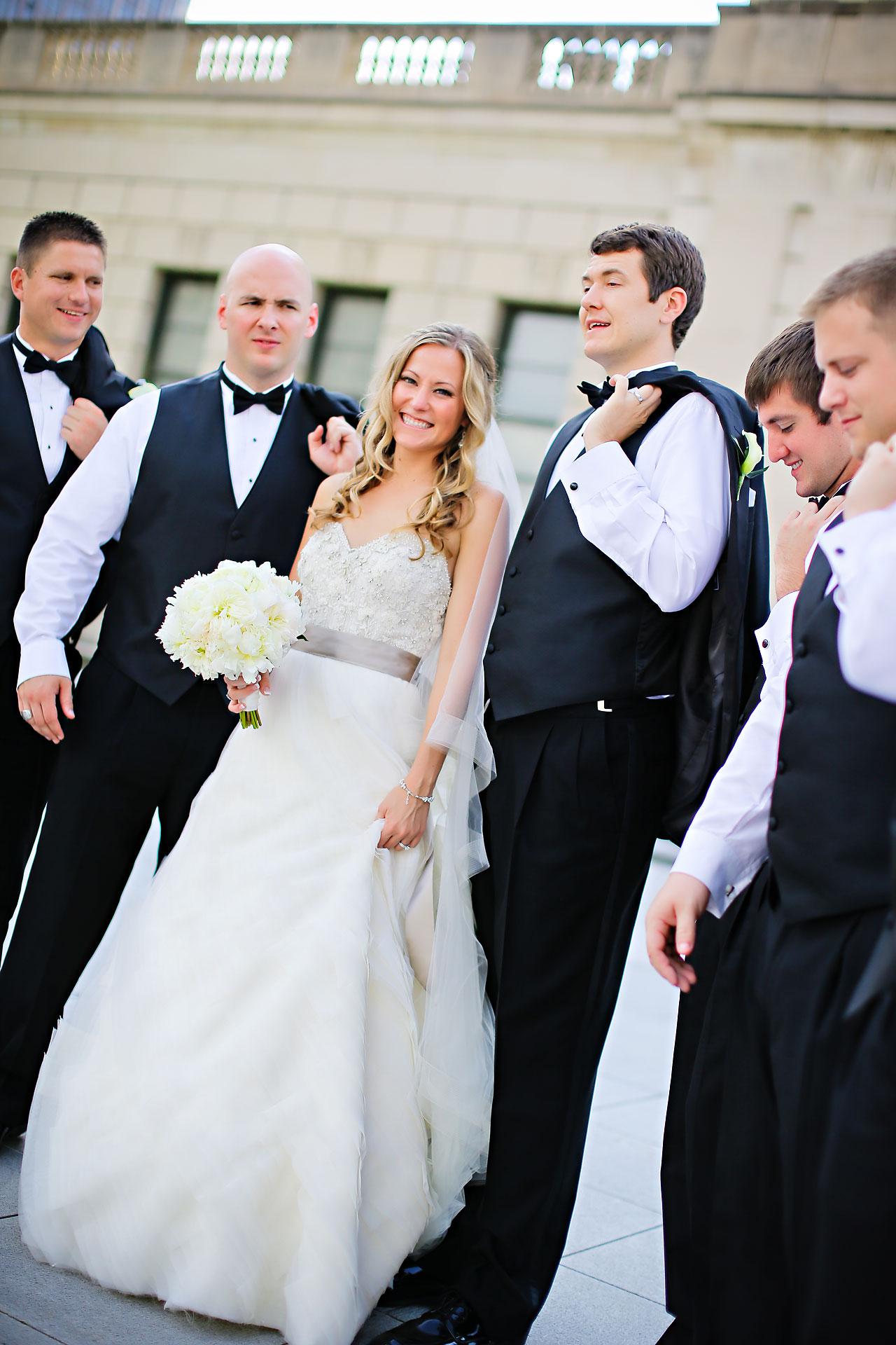 Moey Drew Indiana Roof Ballroom Wedding 130