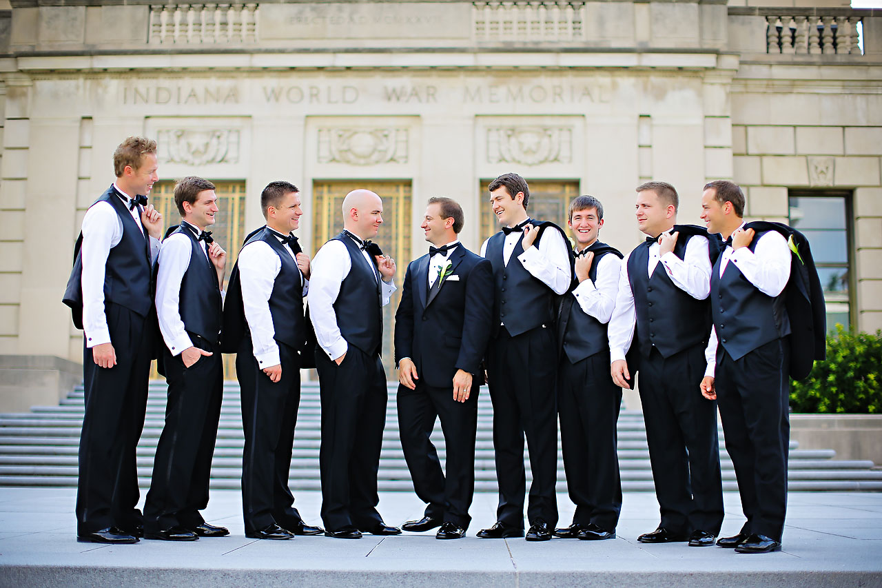 Moey Drew Indiana Roof Ballroom Wedding 122