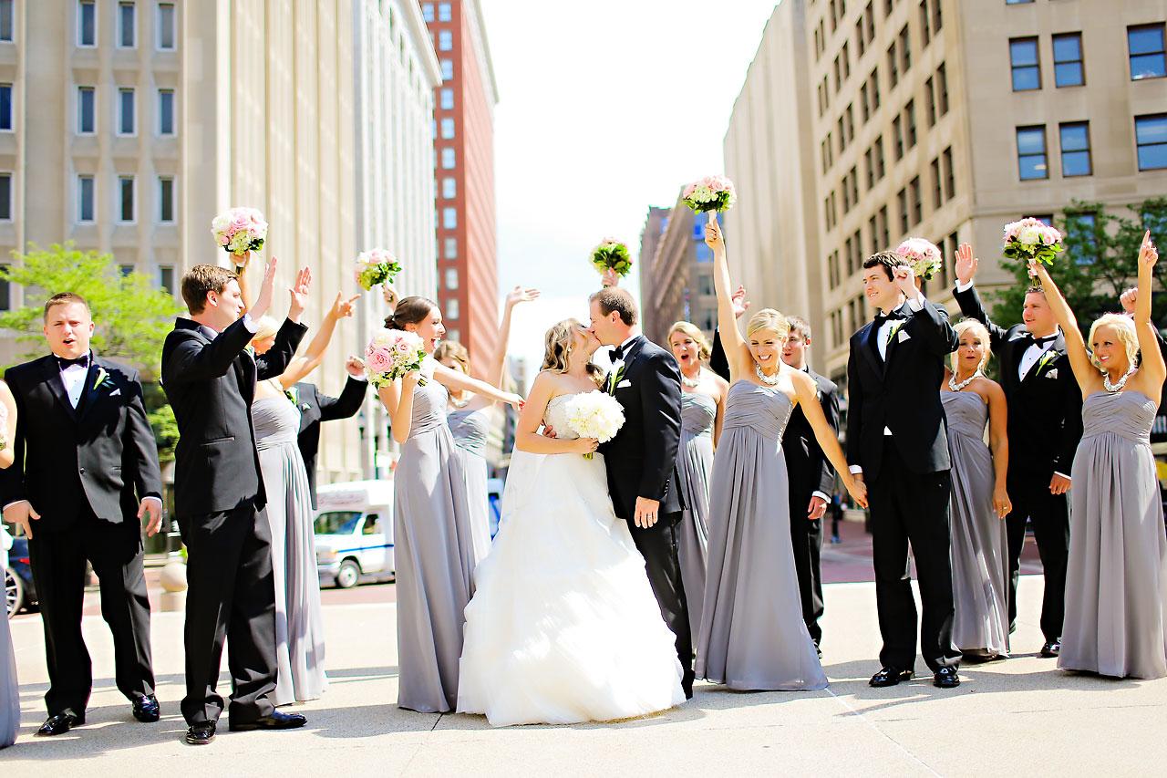 Moey Drew Indiana Roof Ballroom Wedding 105