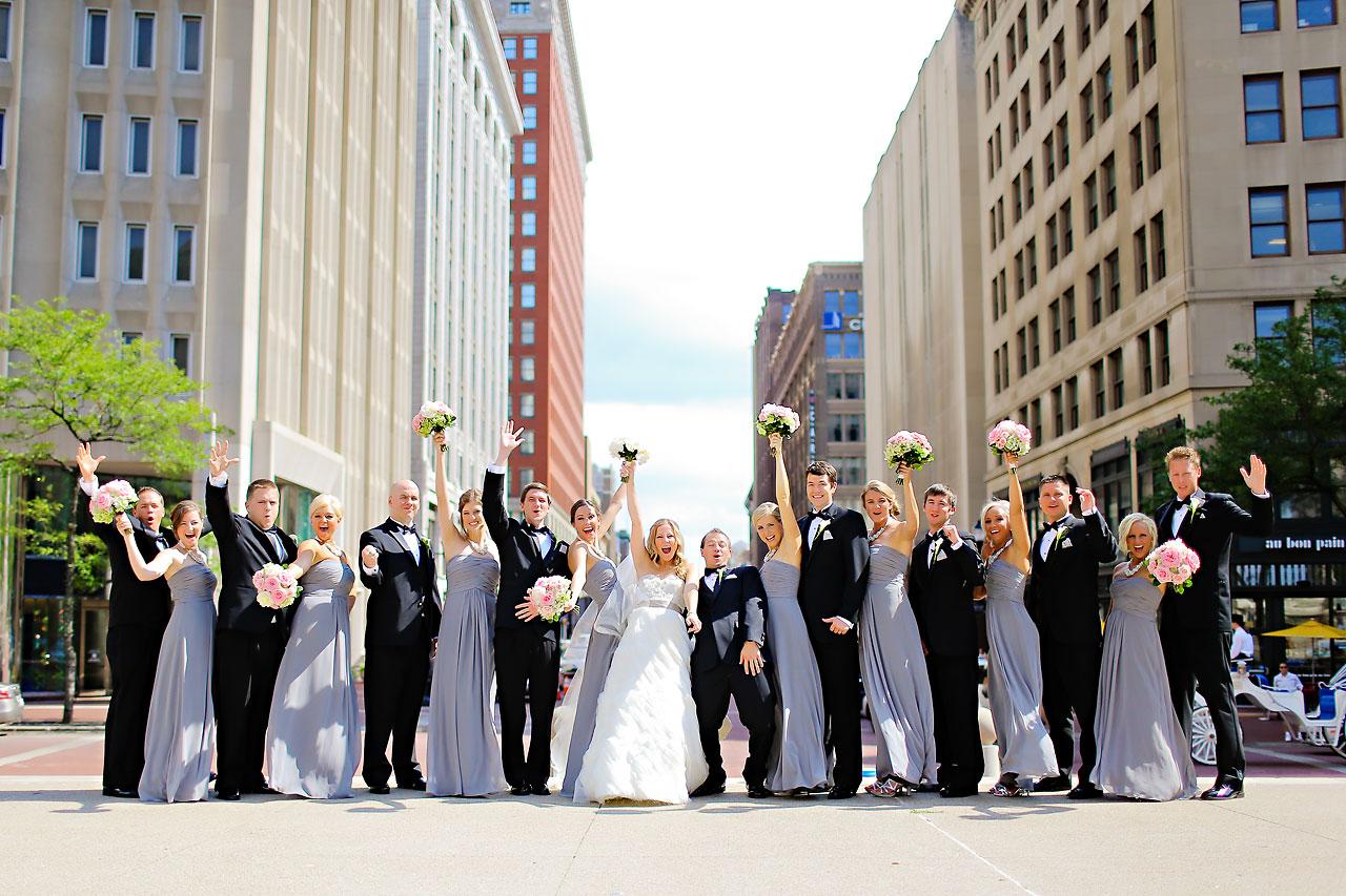 Moey Drew Indiana Roof Ballroom Wedding 097