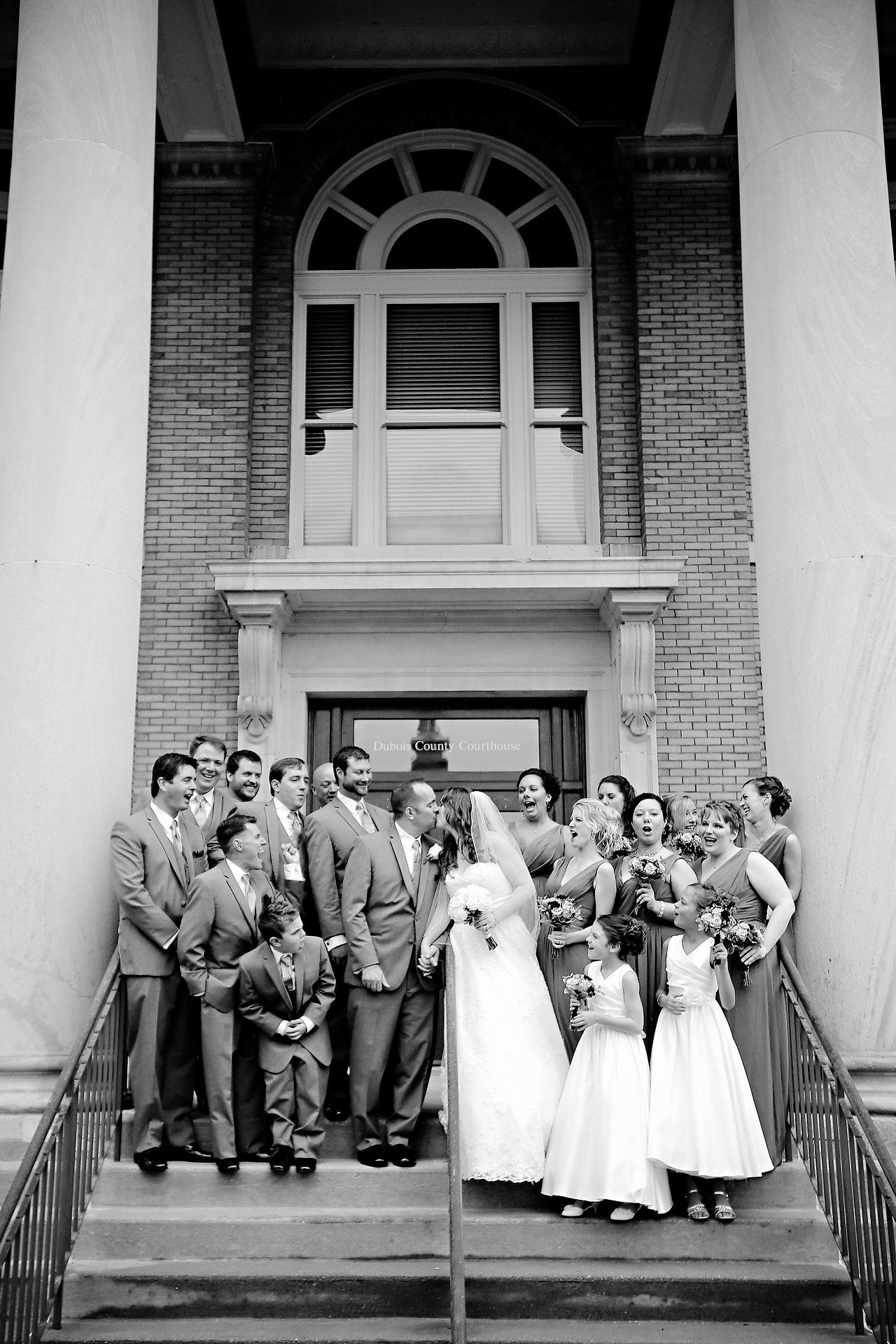 Rachel Alex Jasper Indiana Wedding 130