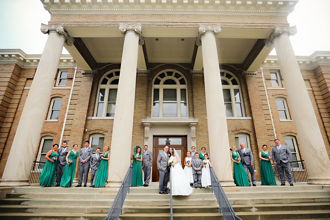 Rachel Alex Jasper Indiana Wedding 116