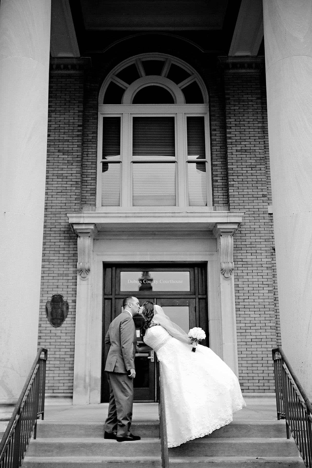 Rachel Alex Jasper Indiana Wedding 112