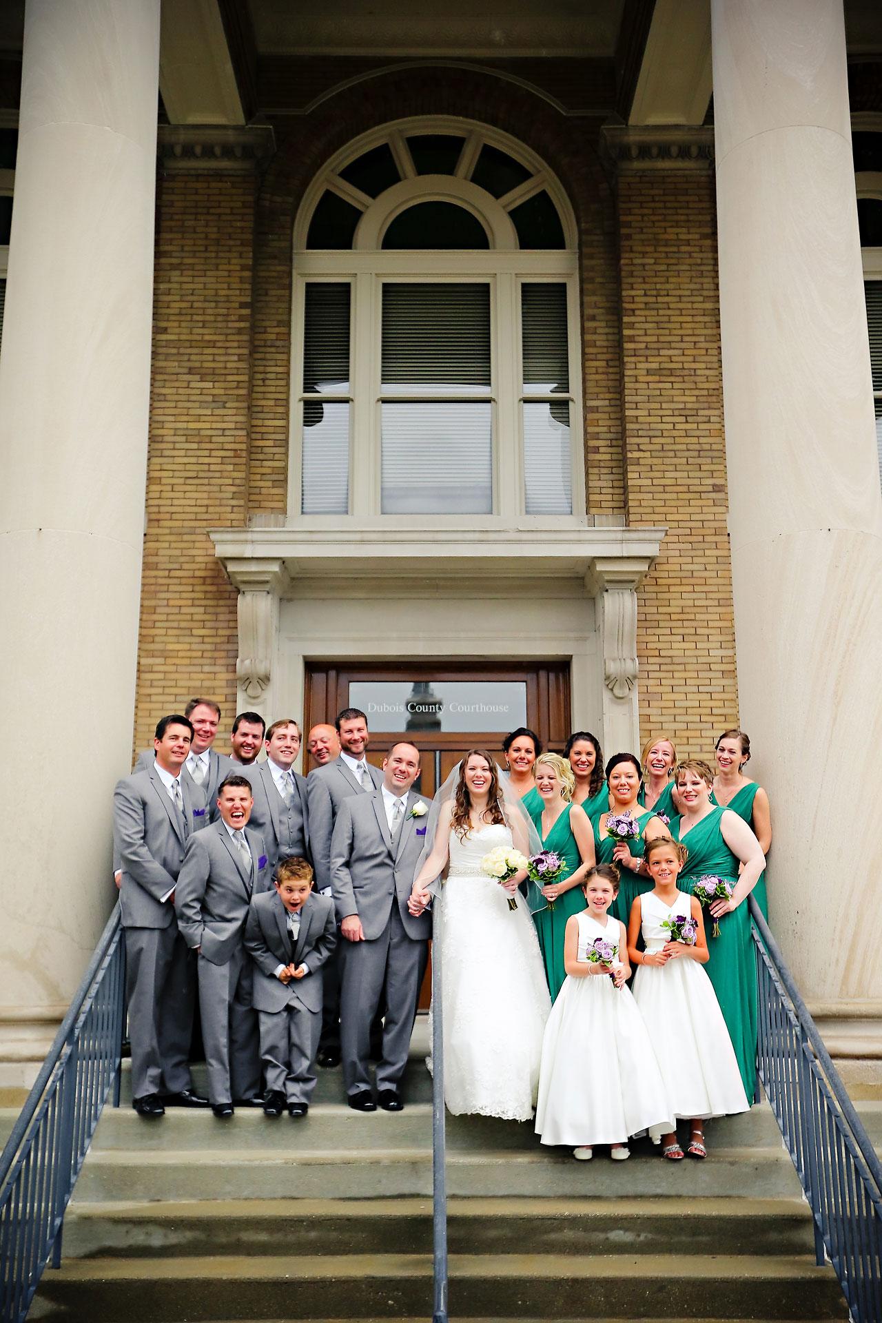 Rachel Alex Jasper Indiana Wedding 114