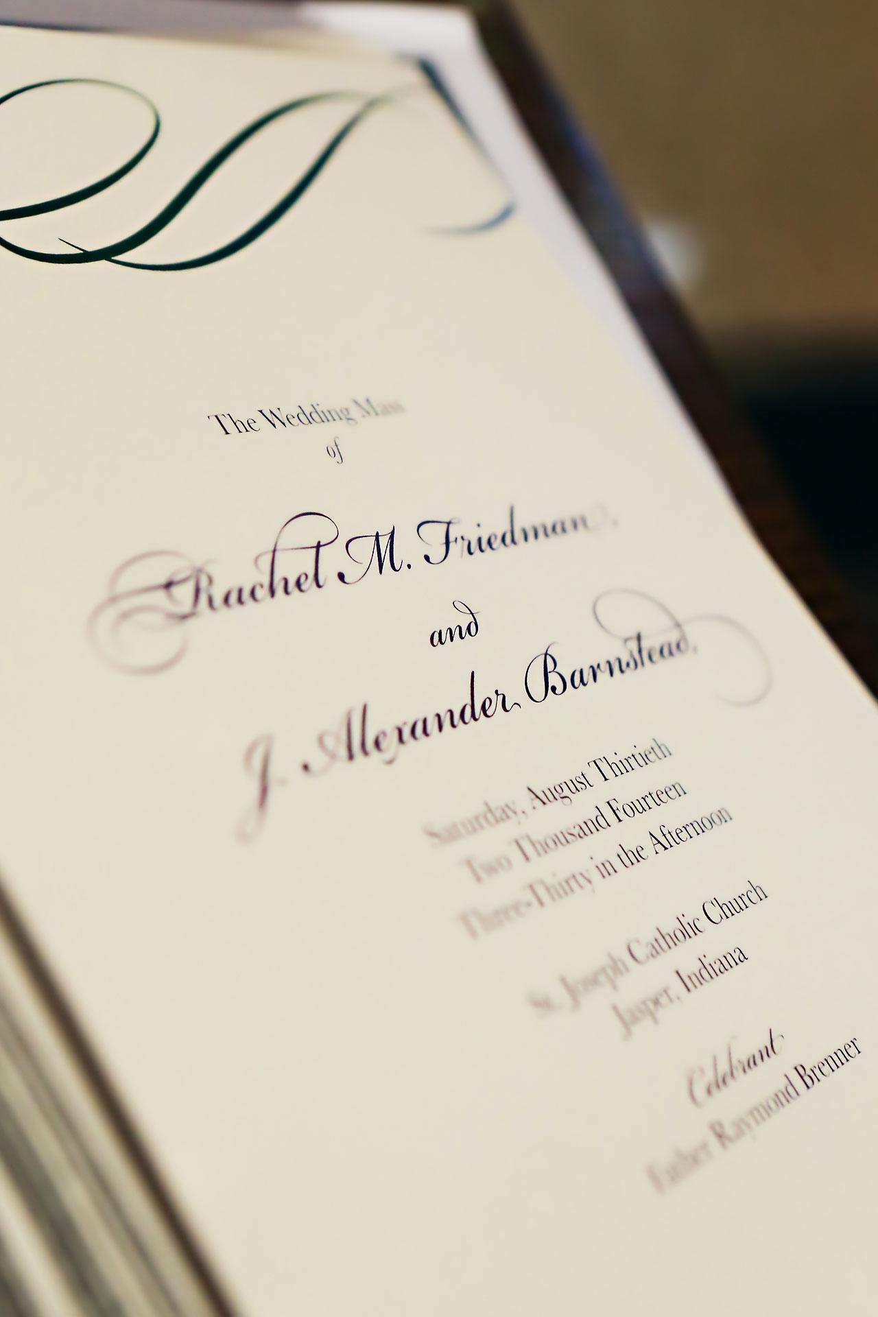 Rachel Alex Jasper Indiana Wedding 085