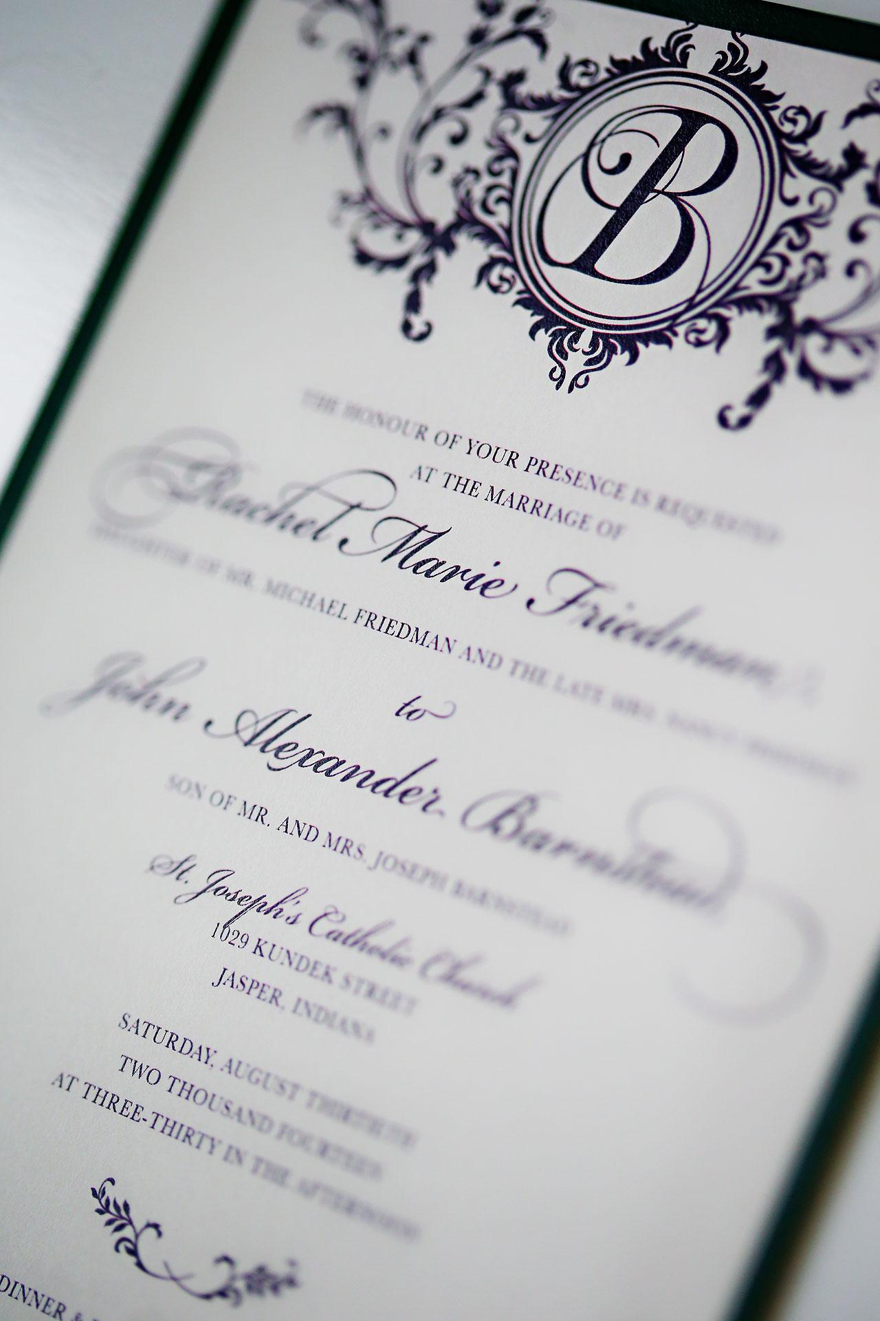 Rachel Alex Jasper Indiana Wedding 002
