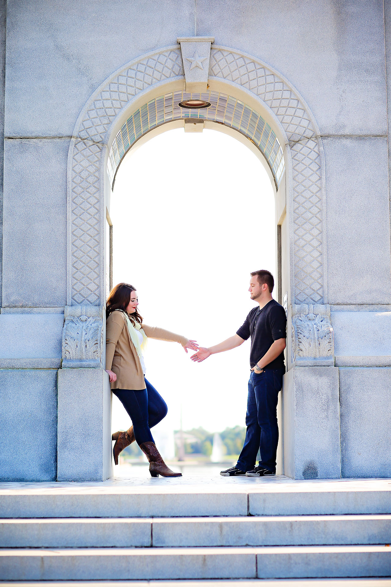 Megan Justin Houston Engagement Session 101