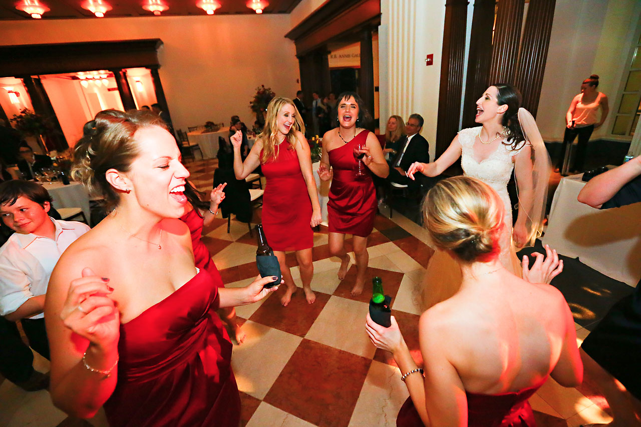 Kate Steve Indiana Historical Society Wedding 269