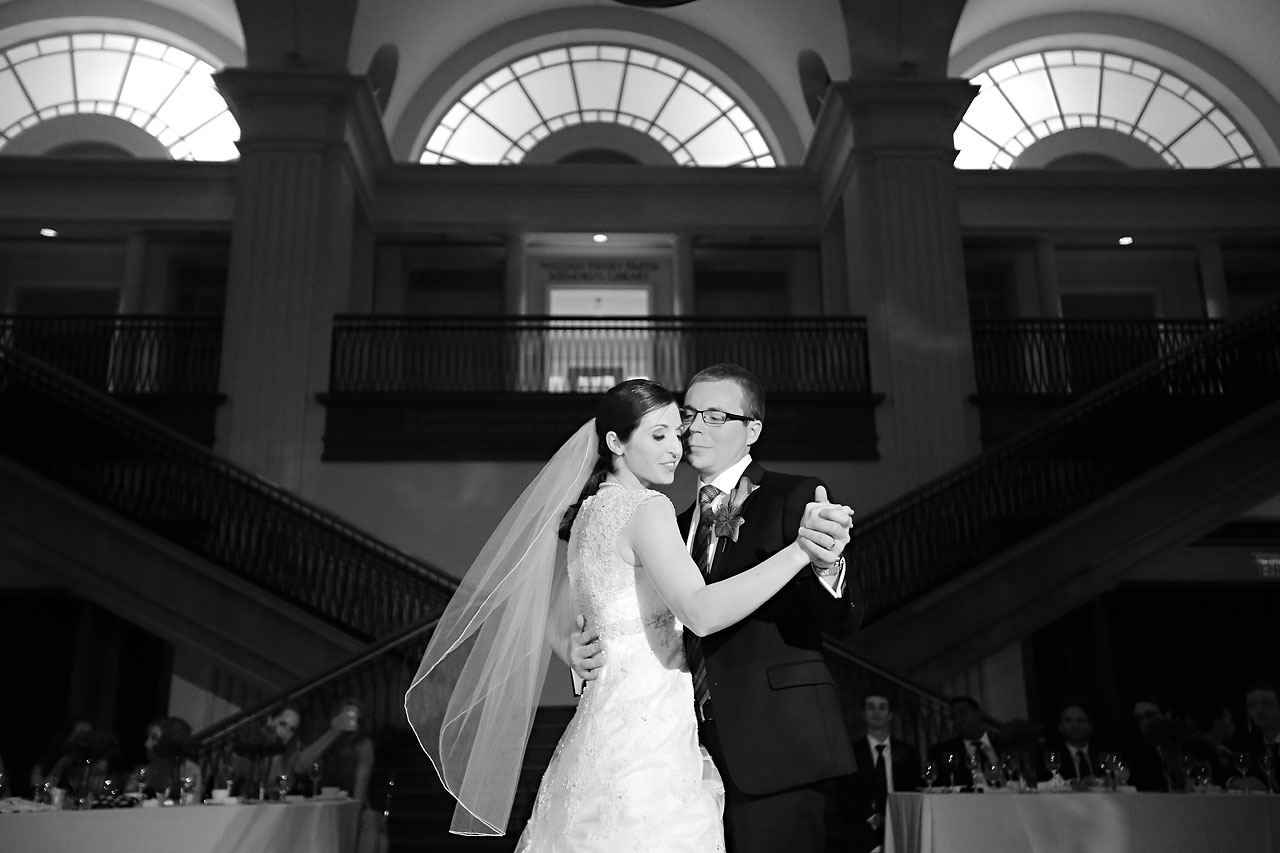 Kate Steve Indiana Historical Society Wedding 245