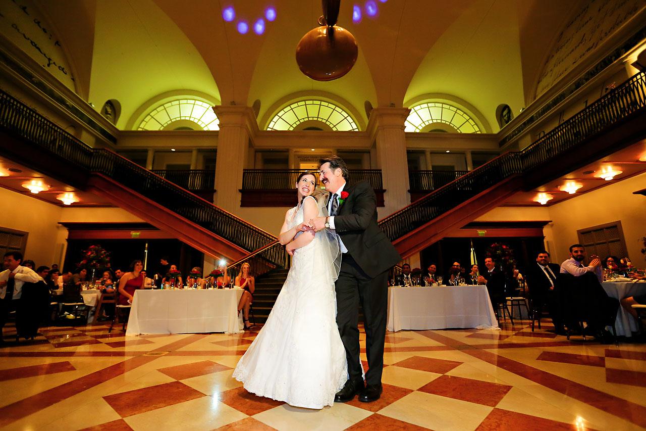 Kate Steve Indiana Historical Society Wedding 234