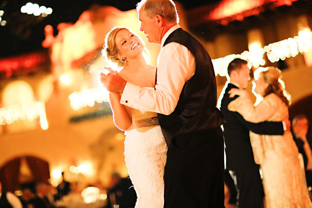 Kim Spencer Indiana Roof Ballroom Wedding 223