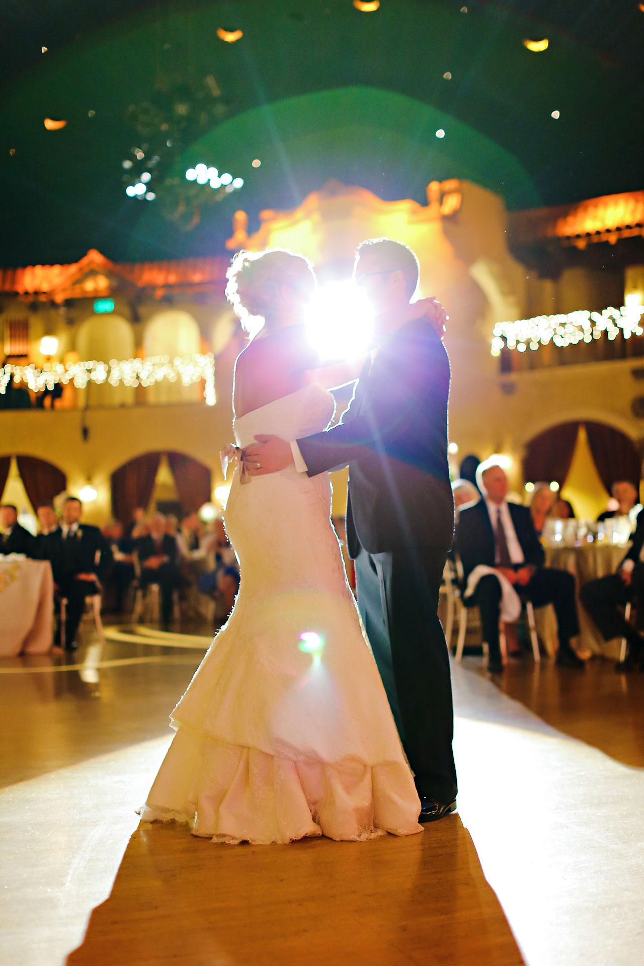 Kim Spencer Indiana Roof Ballroom Wedding 207
