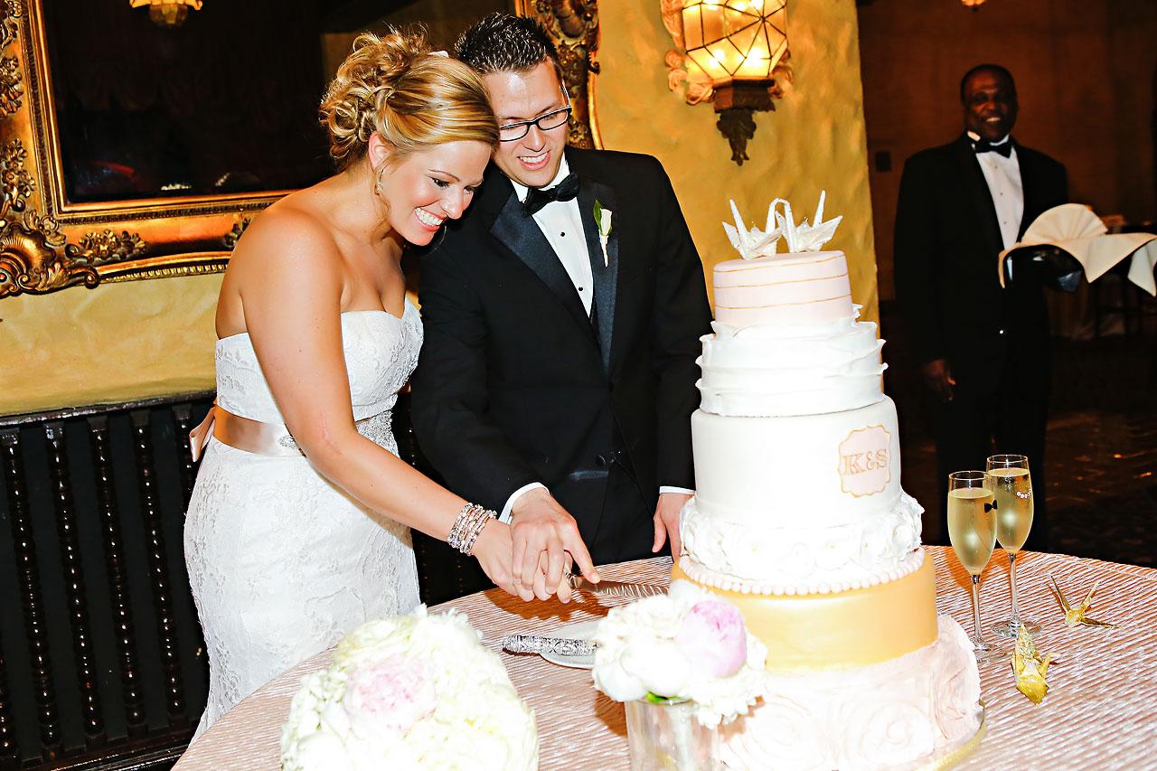 Kim Spencer Indiana Roof Ballroom Wedding 188