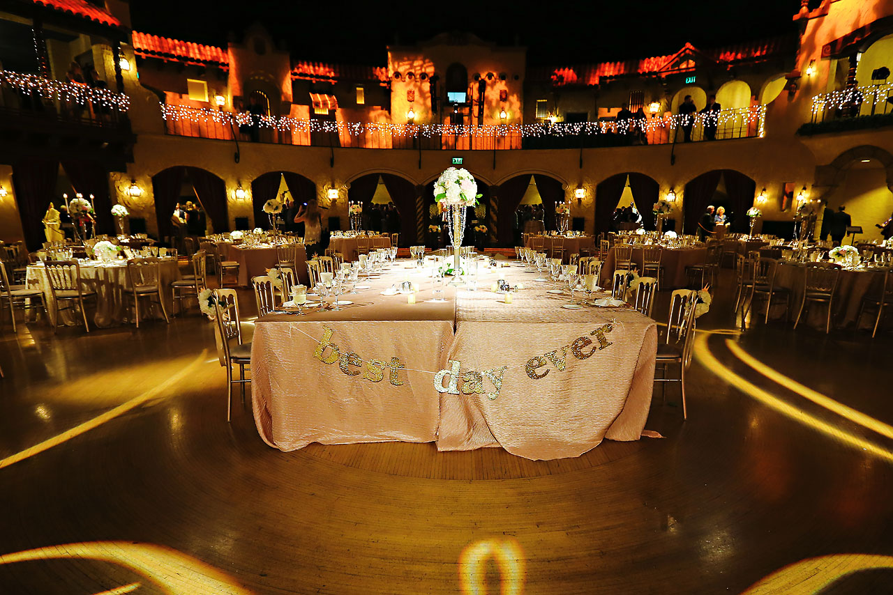 Kim Spencer Indiana Roof Ballroom Wedding 179
