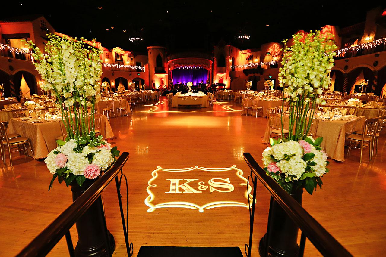 Kim Spencer Indiana Roof Ballroom Wedding 159